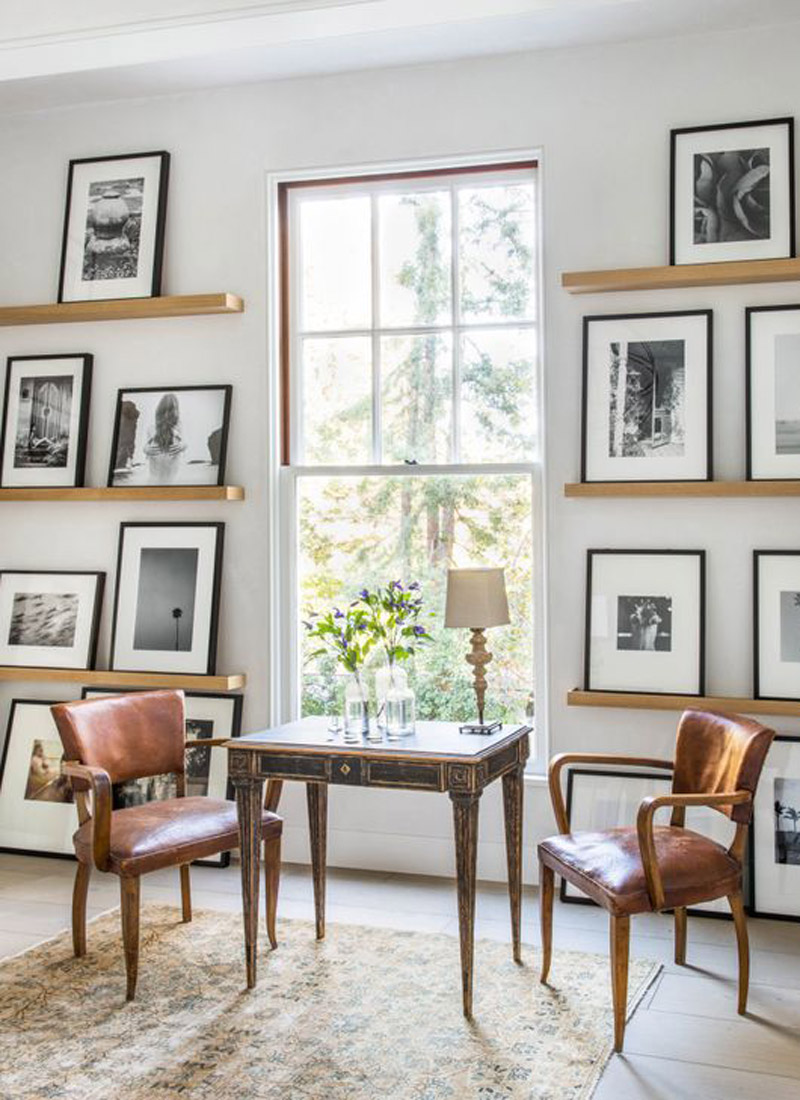 Nordic Home Et Cetera » Wall Art Displayed Beautifully