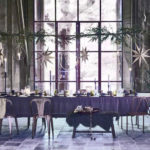 Dark Tones And Glamour In A Winter Interior