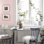 Pastels And Vintage Pieces In A Swedish Home