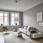 A Soothing Grey Apartment With Nudes
